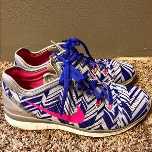 Women's chevron Nikes